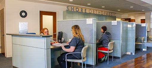 ShoreOrthopedic Facility Interior Image Lobby Patient Waiting Room