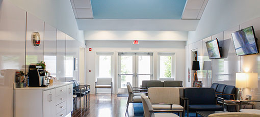 ShoreOrthopedic Facility Interior Image Lobby Patient Waiting Room