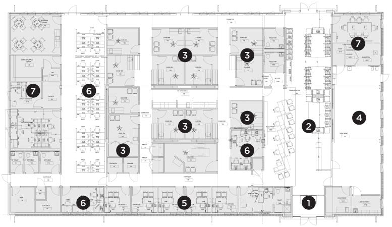 Shore Orthopaedic Floor Plan