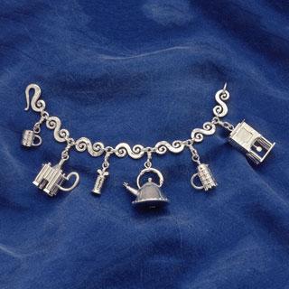 Michael Graves Charm Bracelet