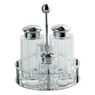 Condiment Set by Michael Graves Design for Alessi