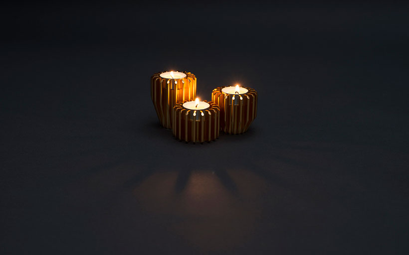 Fireroad Radial Candle Holders