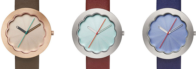 Projects Watches Scallop Watch in Rose Gold, Celadon, and Lavender