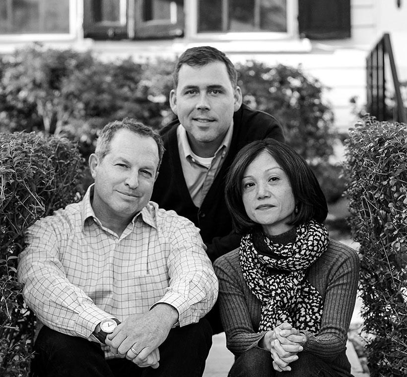 MGA&D Product Design Principals (from left to right) Donald Strum, Rob VanVarick, and Yuka Midorikawa