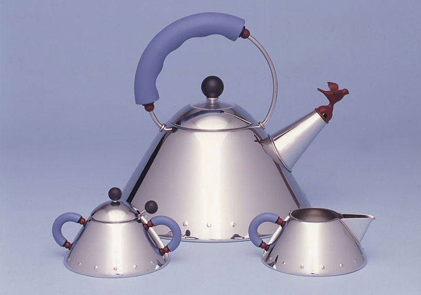 Alessi 9093 Tea Kettle Set