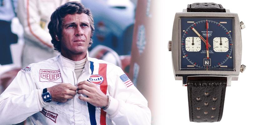Steve McQueen Heuer Watch