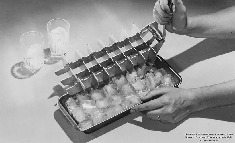GE ice cube tray